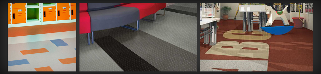 Commercial Rubber & Vinyl Tile